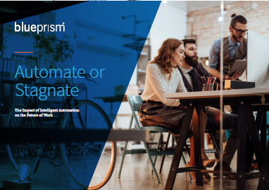Expert Content - blueprism White Paper: Automate or Stagnate