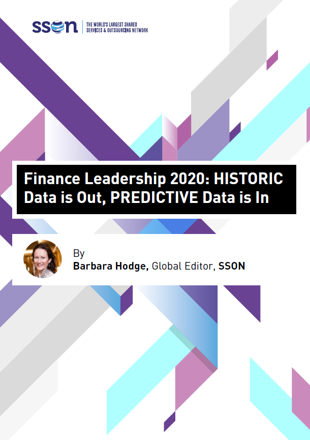 Finance Leadership 2020: HISTORIC Data is Out, PREDICTIVE Data is In