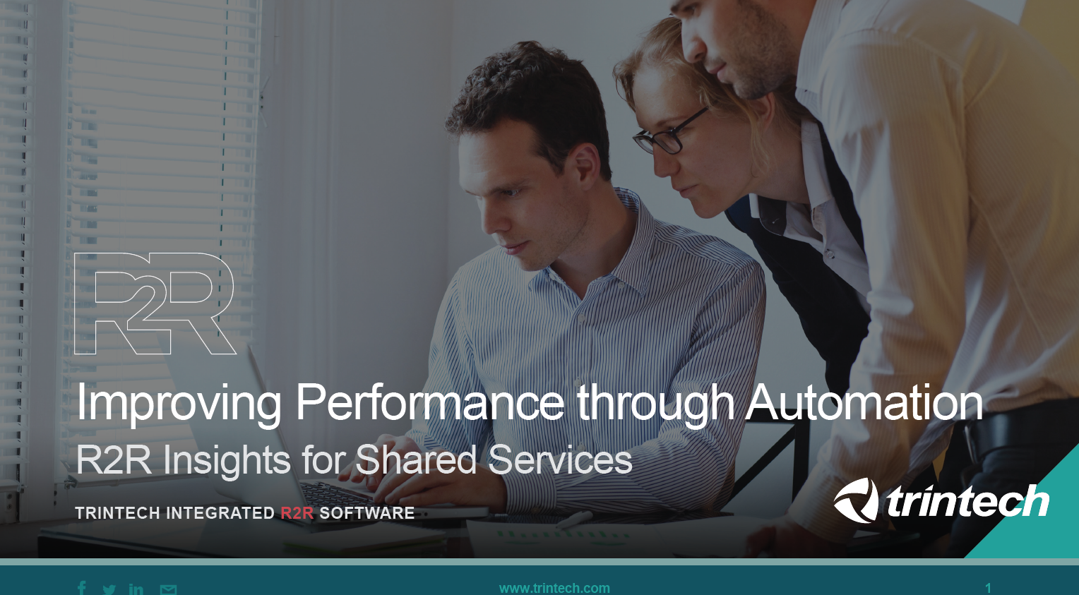 Improving Performance through Automation: R2R Insights for Shared Services