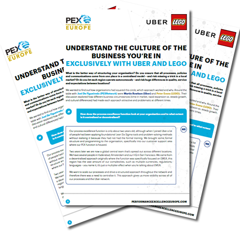 Understand the Culture of the Business you're in with Uber & LEGO
