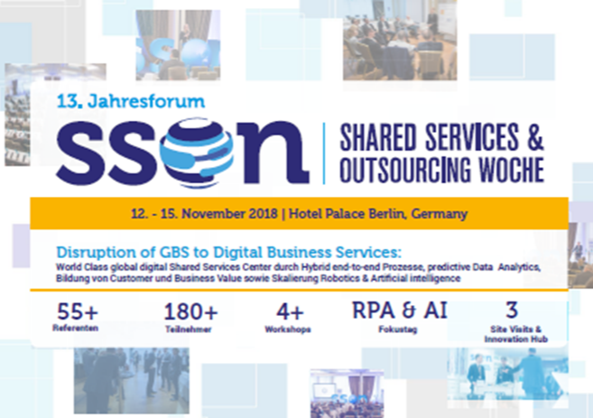 Partner Content - Shared Services & Outsourcing Woche Agenda
