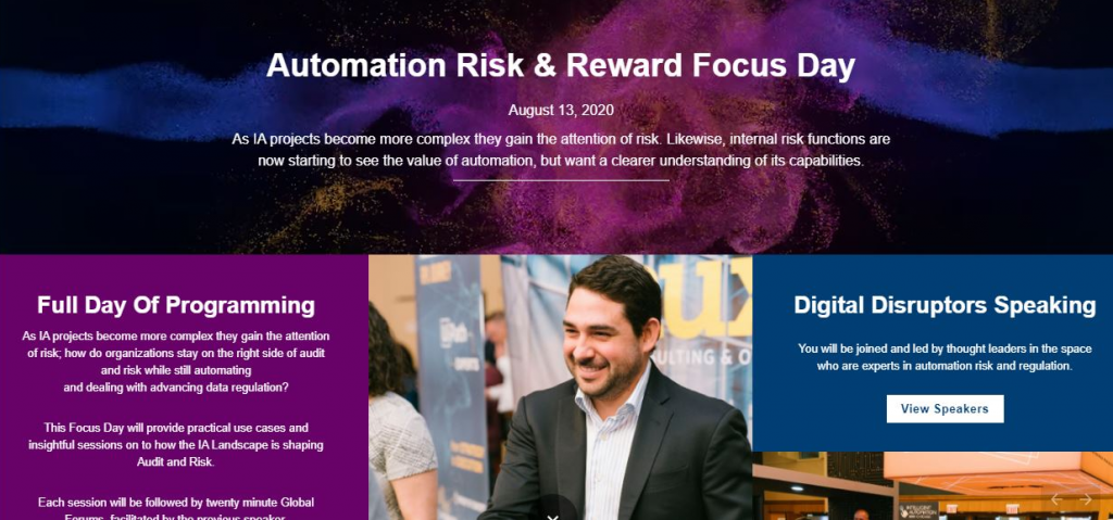 Risk & Reward Focus Day Interactive Program