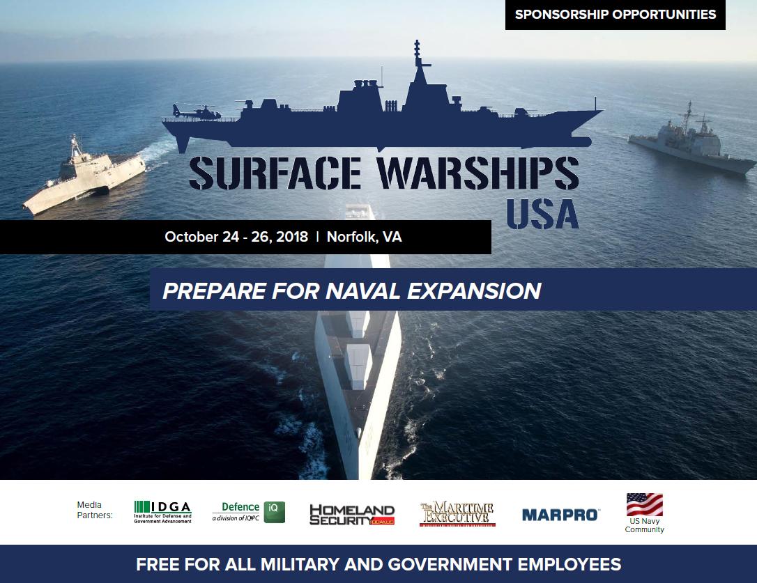 Surface Warships Sponsorship Prospectus