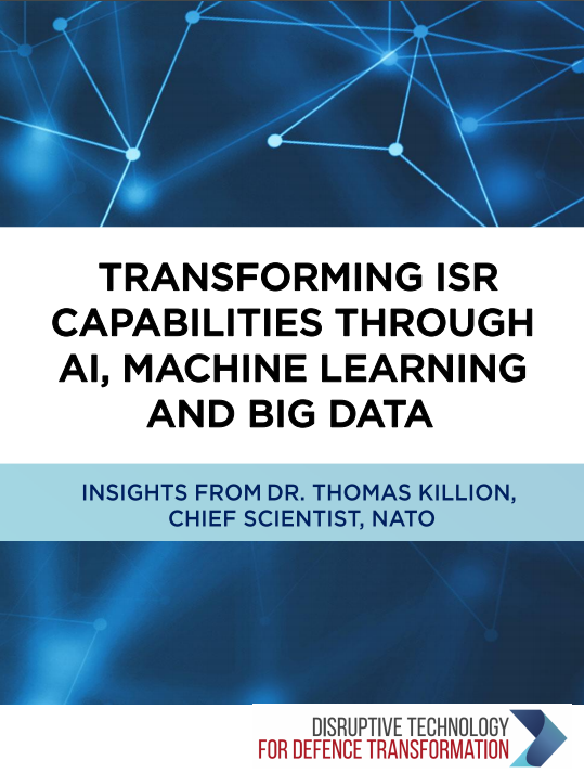 Transforming ISR Capabilities Through AI, Machine Learning, and Big Data