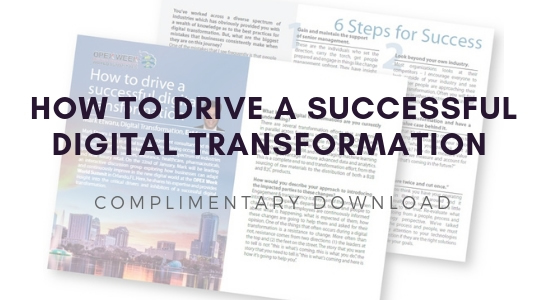 How to Drive a Successful Digital Transformation
