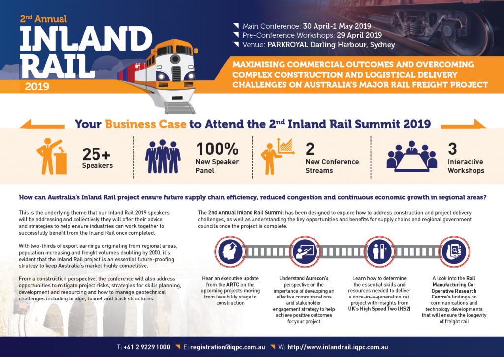 Inland Rail 2019 Business Case