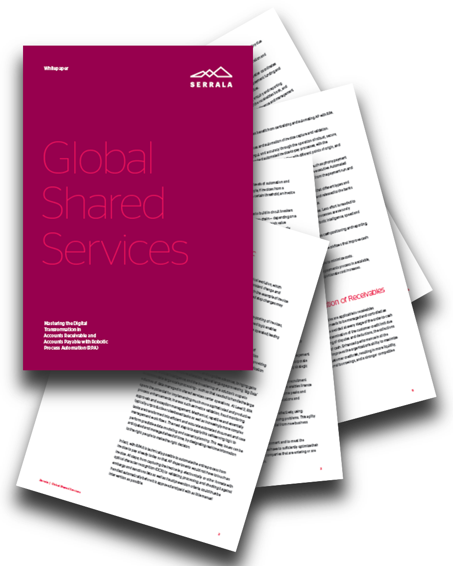 Whitepaper von Serrala zu Global Shared Services