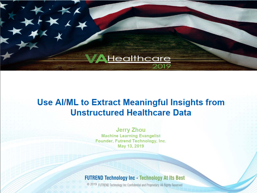 Use AI/ML to Extract Meaningful Insights from Unstructured Healthcare Data
