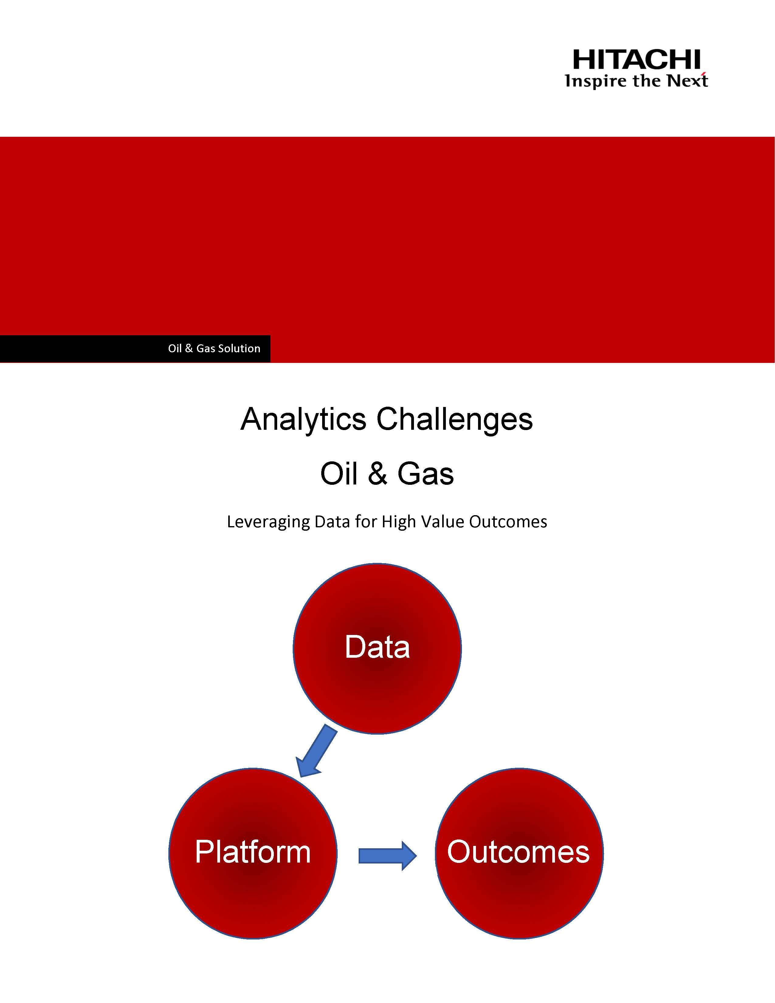 Analytics Challenges in Oil & Gas: Leveraging Data for High Value Outcomes