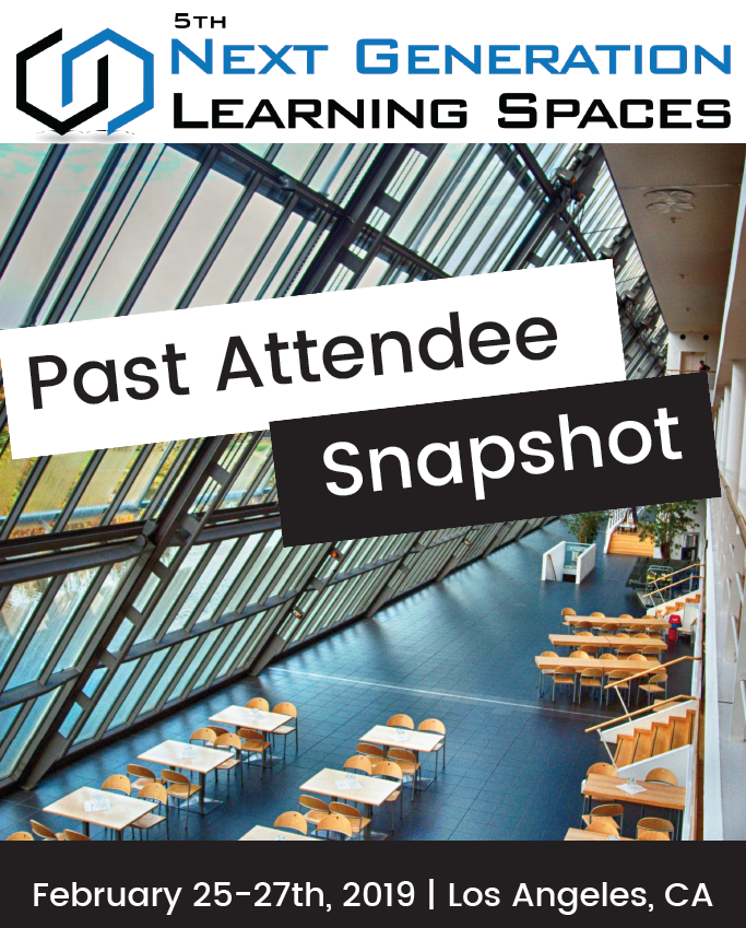 Next Generation Learning Spaces Past Attendee Snapshot