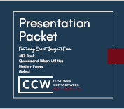 Customer Contact Week Australia 2020 - Presentation Packet