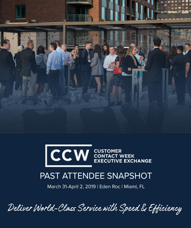 CCW Executive Exchange Past Attendee Snapshot