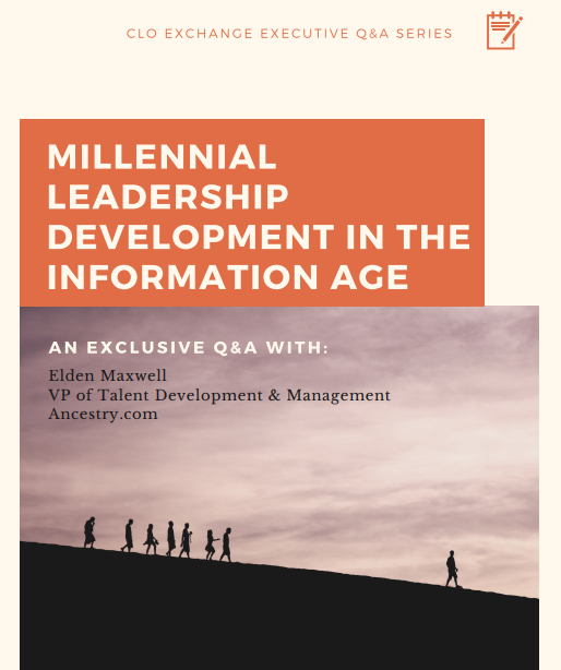 CLO Exchange Series Q&A: Millennial Leadership Development in the Information Age