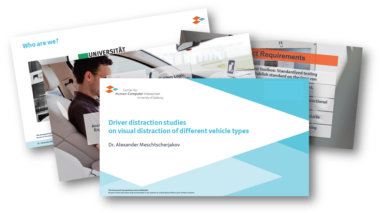 Driver distraction studies on visual distraction of different vehicle types