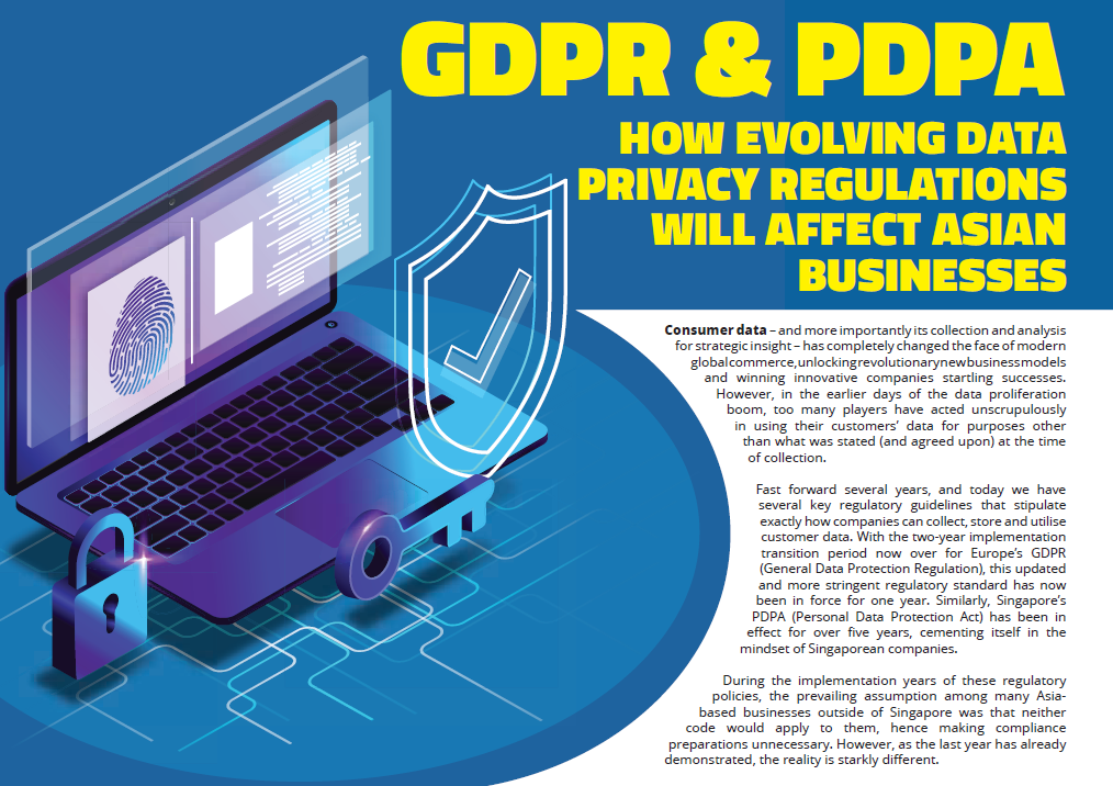 GDPR & PDPA - How evolving data privacy regulations will affect Asian businesses