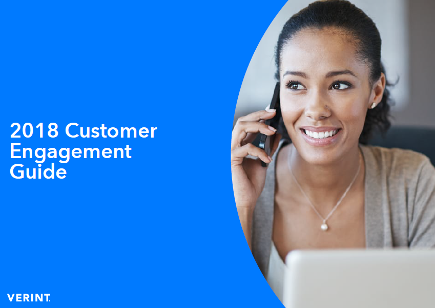 Verint: 2018 Customer Engagement Guide