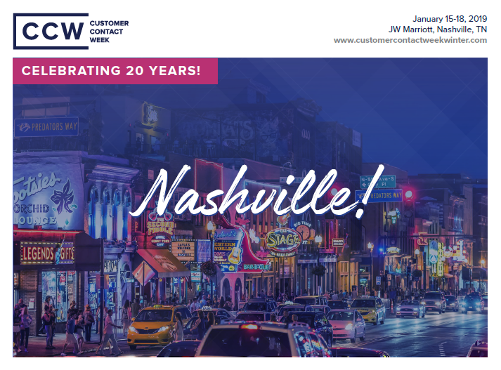 CCW Nashville 2019: Event Brochure