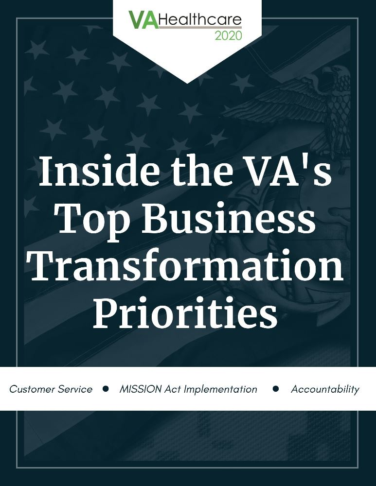 The Dept. of Veteran Affairs Top Business Transformation Priorities: Overview & Analysis