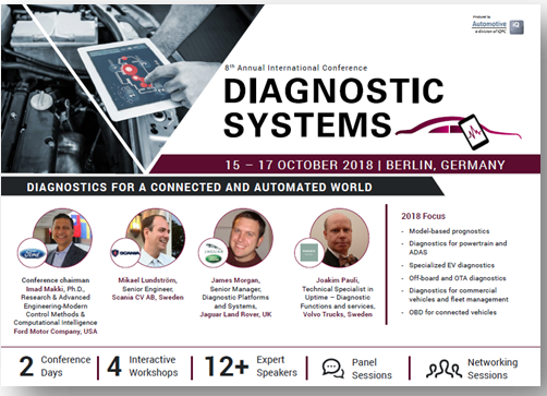 Diagnostic Systems 2018 Agenda
