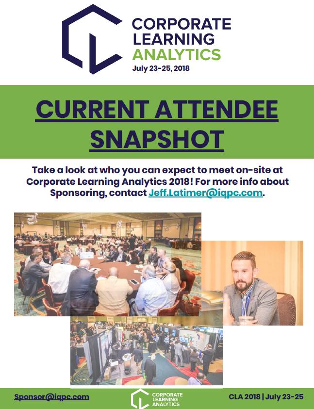 2018 Attendee Snapshot
