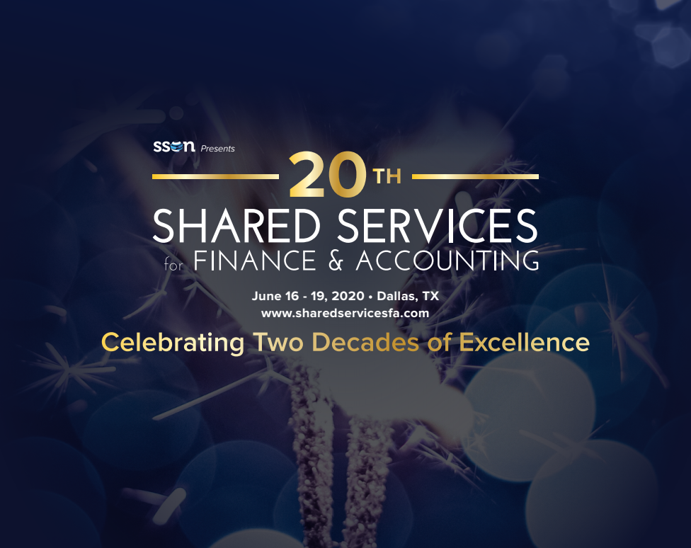 EQ 20th Shared Services for Finance & Accounting Agenda