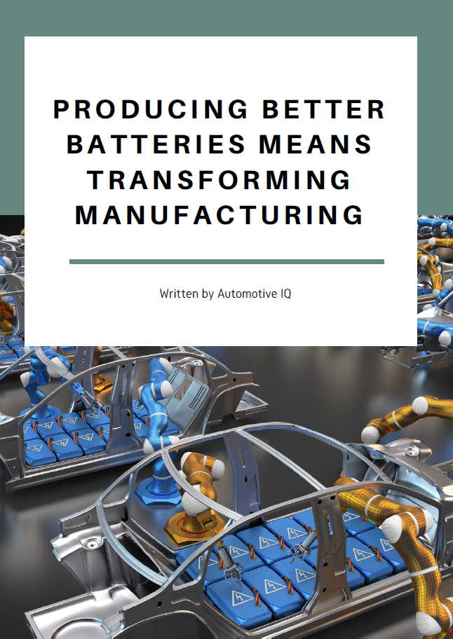 Report on Producing Better Batteries Means Transforming Manufacturing