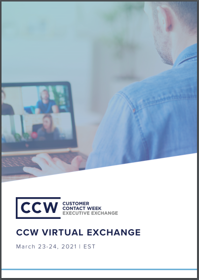 View Full Event Agenda | CCW Virtual Exchange March 2021