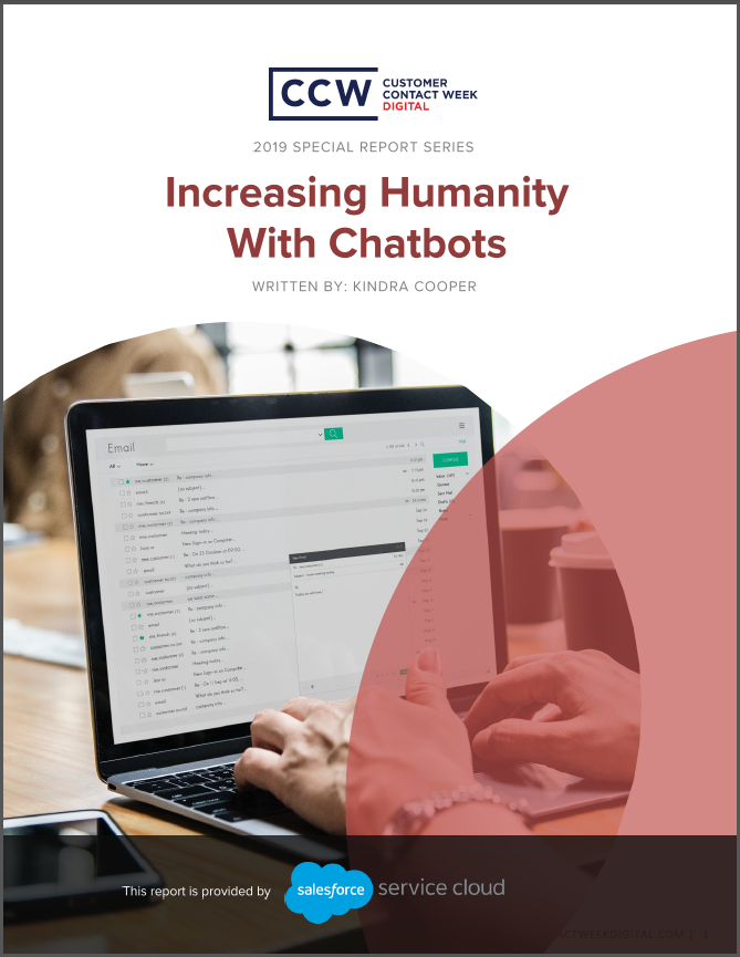 Special Report: Increasing Humanity With Chatbots