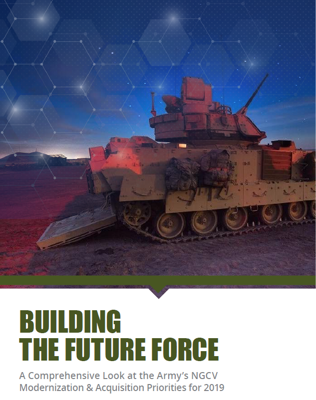 The Army's NGCV Modernization & Acquisition Priorities for 2019