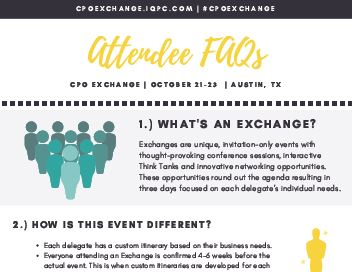 Attendees FAQ