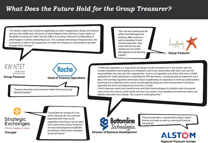 What Does the Future Hold for Group Treasurers?