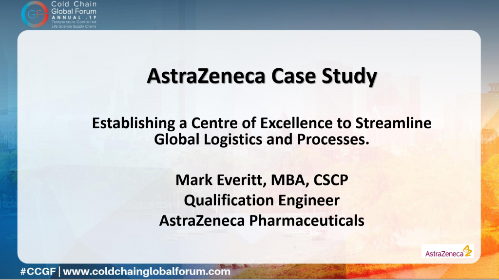 ASTRAZENECA CASE STUDY: Establishing a Centre of Excellence to Streamline Global Logistics and Processes