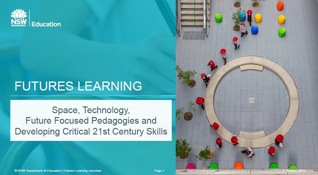 How Space and Technology can Support Future Focused Pedagogies and Deeply Engage Students in Developing  Critical 21st Century Skills
