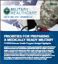 FY2019 Defense Health Program Budget Highlights