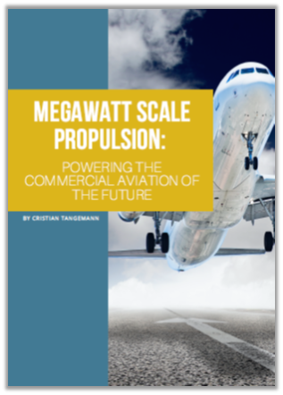 Article on how to use megawatt propulsion system technology for hybrid electric aircraft