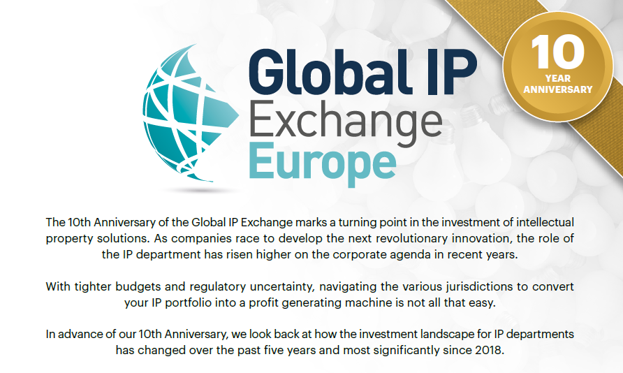 Global IP Exchange Europe - 2019 Investment Priorities