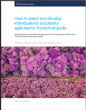 How to Select and Develop Individuals for Successful Agile Teams: A Practical Guide