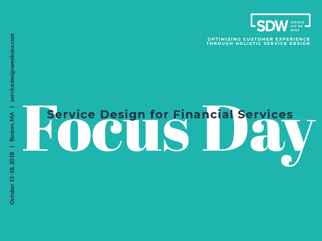 2018 Service Design for Financial Services Focus Day FAQs
