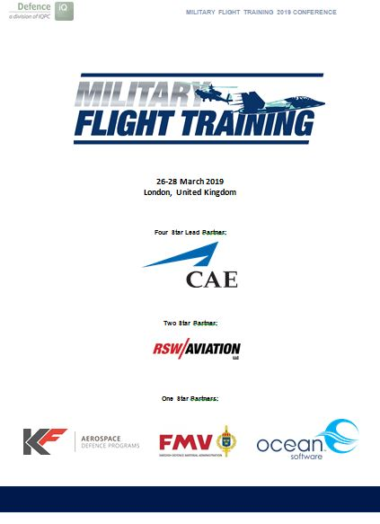 2019 Military Flight Training Event Guide
