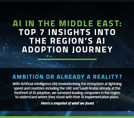 Top 7 insights into the Middle East's AI adoption journey
