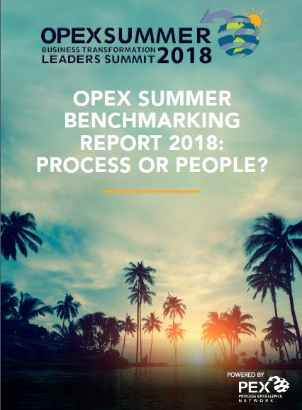 OPEX Summer | Benchmarking Report 2018: PROCESS OR PEOPLE?