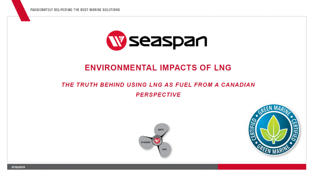 Environmental Impacts of LNG
