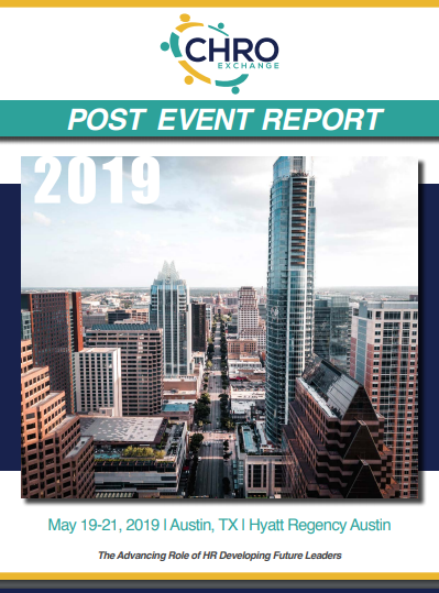 May 2019 CHRO Exchange Post Event Report