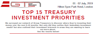 Top Investment Priorities for Treasury 2019