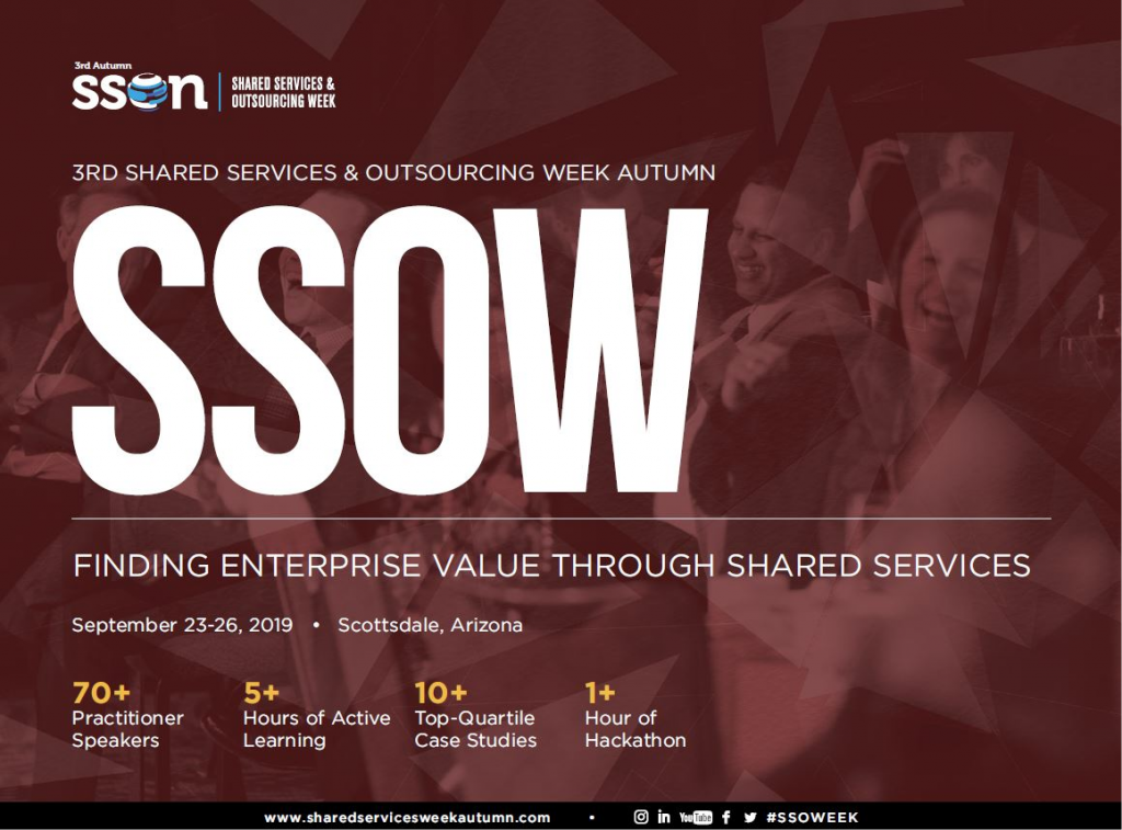 View Event Guide – 3rd Shared Services & Outsourcing Week Autumn