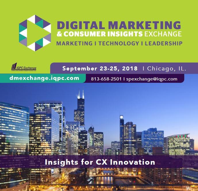 Digital Marketing Exchange Agenda
