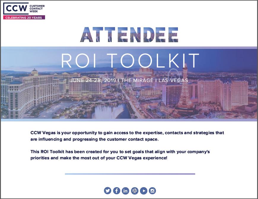2019 CCW Vegas: ROI Toolkit