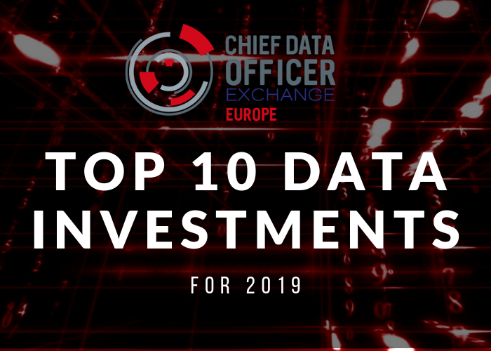 The Top 10 Data Investments for 2019