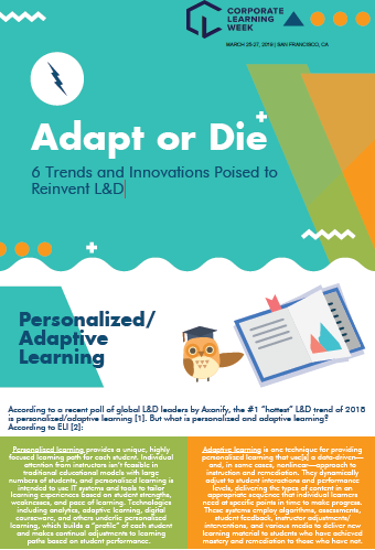 Adapt or Die: 6 Trends and Innovations Poised to Reinvent L&D