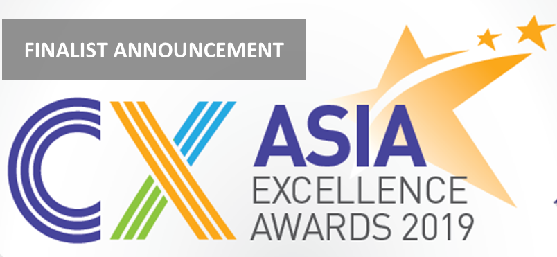 List of Finalist for CX Asia Excellence Awards 2019